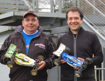 James Collins and Jason Birch - 2WD and 4WD winners at Round 3, Stonehaven
